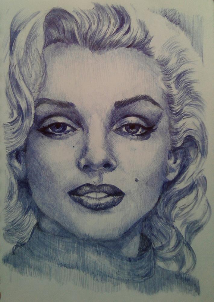 Marilyn Monroe par wilfredo